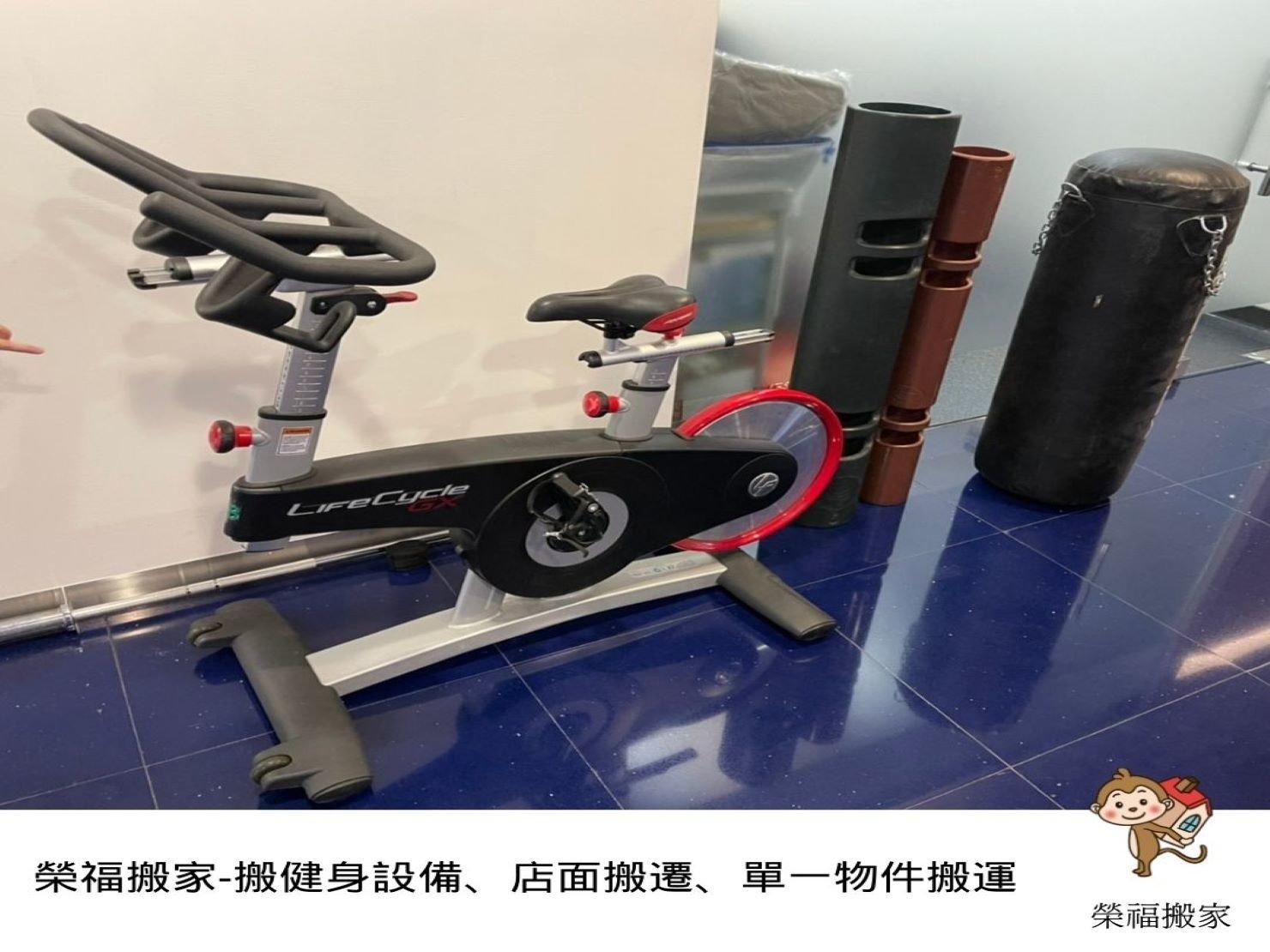 【店面搬遷】健身中心搬大型健身器材、設備,榮福搬家專業搬運快速完成搬遷