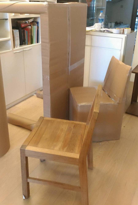實木餐桌搬運包裝|搬家公司推薦-榮福搬家大型家具搬運首選