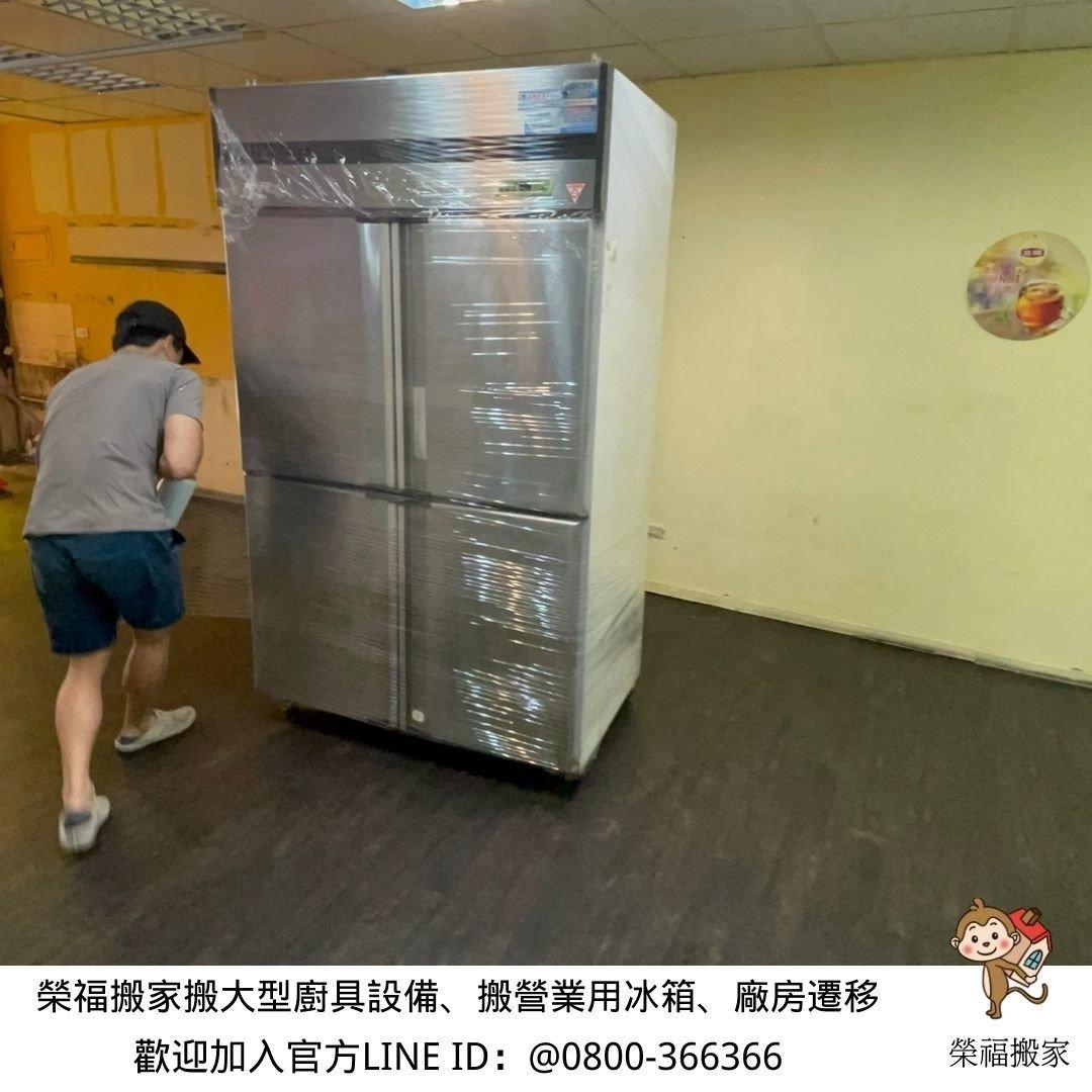 【店面搬遷】餐廚設備、廚具設備暫放貨櫃,搬家公司有服務店面多處地點搬運、卸貨放置嗎?