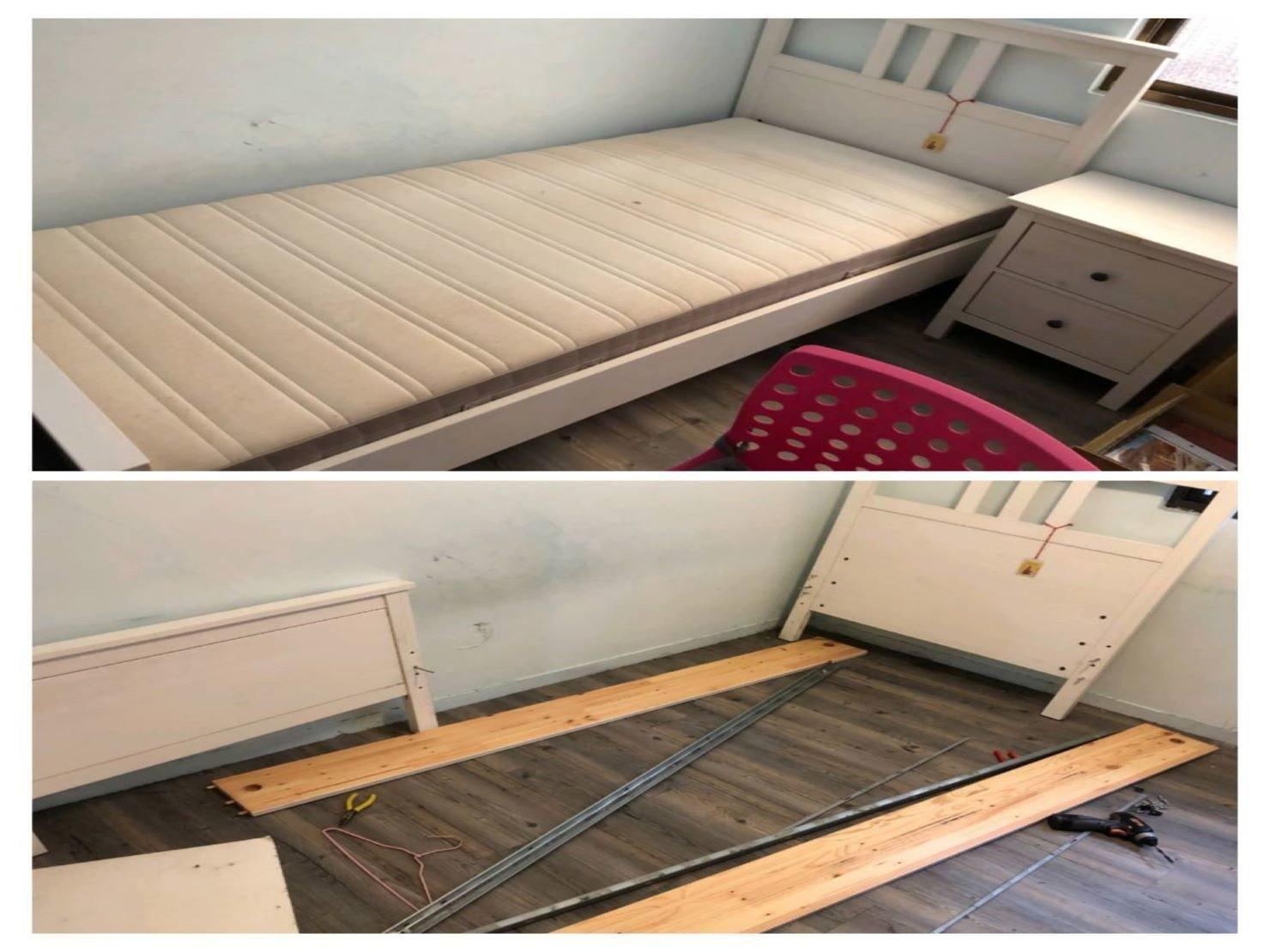 IKEA單人床組拆裝搬運搬家