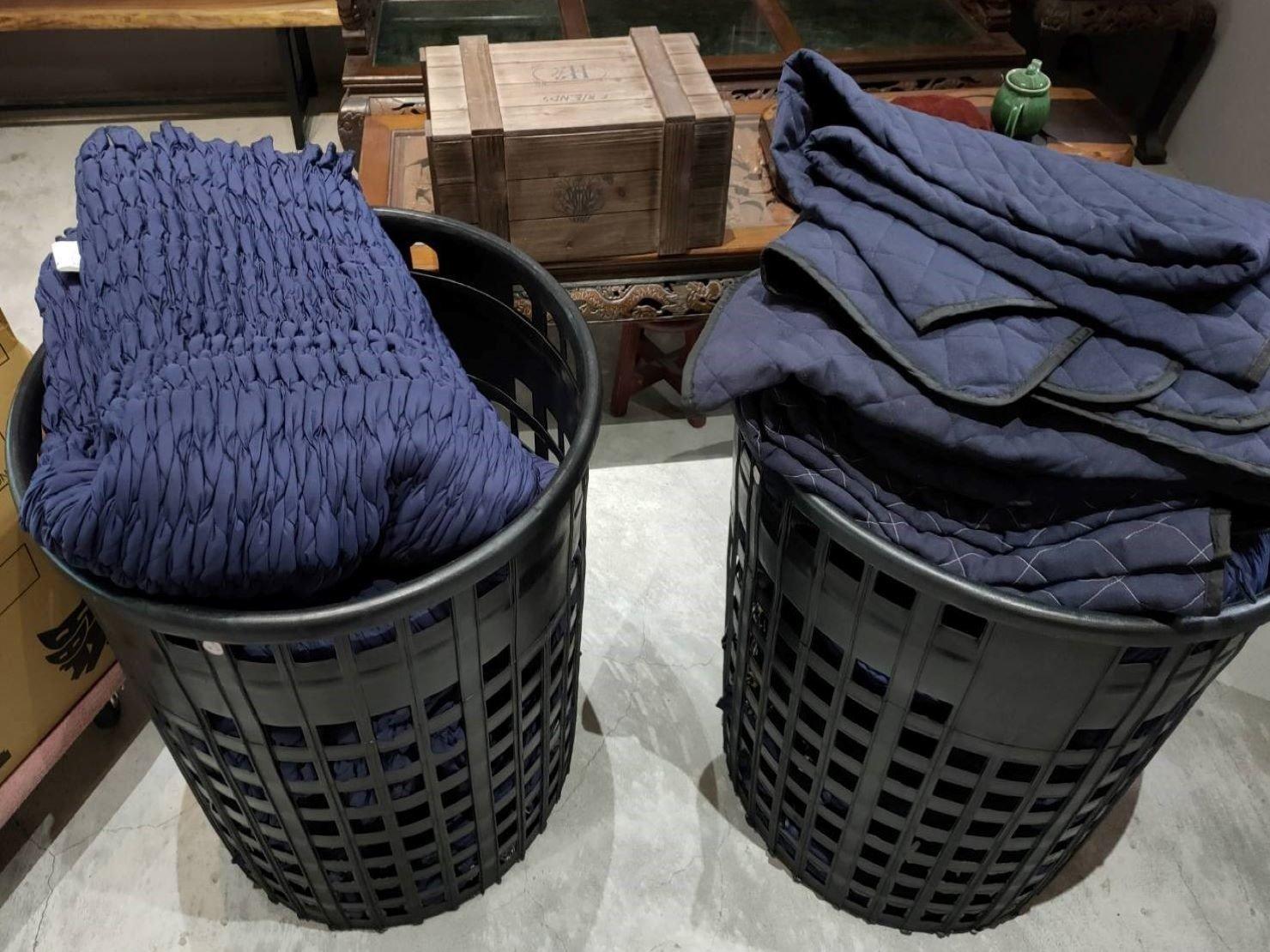 軍用包裹毯、日式伸縮保護套(依據不同家具、家電器、儀器等套上使用保護防碰撞及磨擦)。