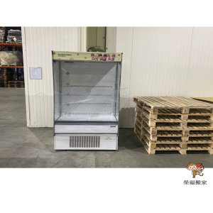 【店面搬遷】搬大型營業開放式冰箱注意事項?榮福帶您來看我們專業搬冰箱