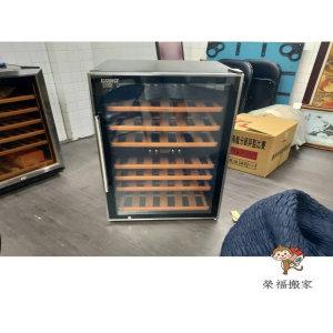 【搬家實錄】紅酒瓶與紅酒櫃精緻包裝搬運過程-台北搬家公司推薦